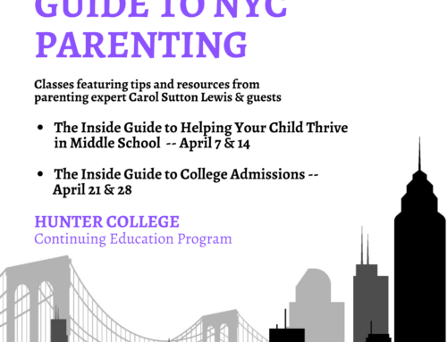 The Inside Guide to NYC Parenting is Coming Next Month!!!