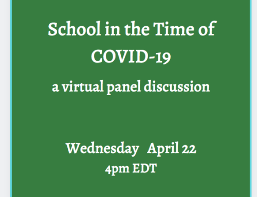 """Great Advice from """"School In the Time of COVID-19"""" Webinar"""