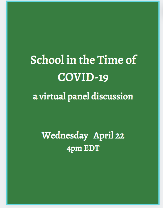 "Great Advice from ""School In the Time of COVID-19"" Webinar"