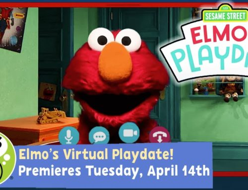 Need a Break?  Elmo's Playdate is on TONIGHT at 7pm EDT!
